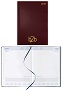2015 Strata - A4 Padded Cover - Page a Day Diary - White pages