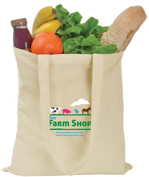 100% Cotton Shopper